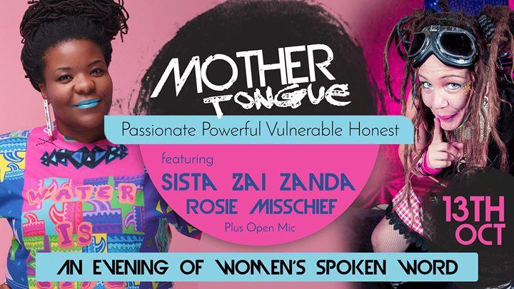 Mother Tongue October – Sista Zai & Rosie Misschief